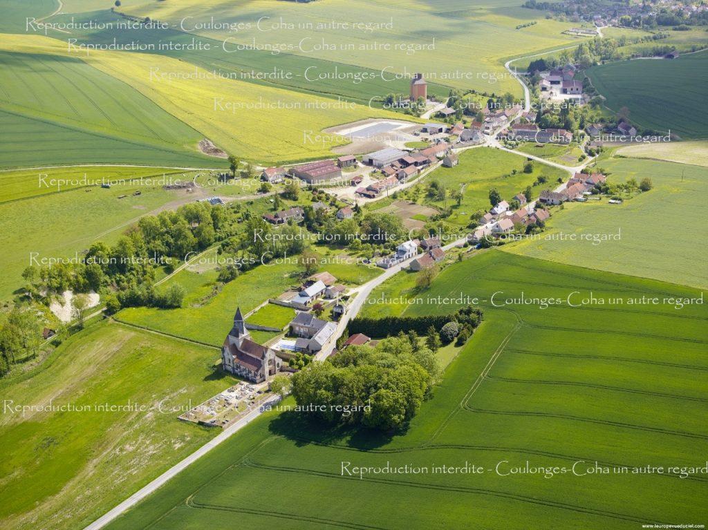 n°2 - Cohan : Vue d'ensemble depuis la route de Dravegny