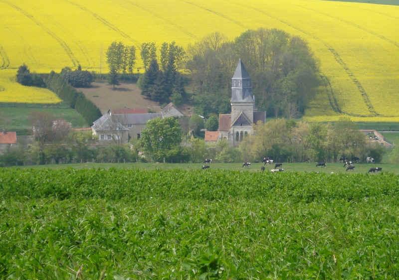 église de cohan